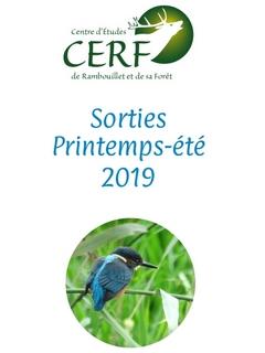 Sorties Printemps-Été 2019